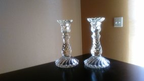 Set of 2 vintage candle holders in Barstow, California