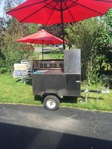 food cart in Oswego, New York