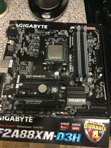FM2+ Gigabyte Motherboard and Athlon x4 860K CPU in Moody AFB, Georgia