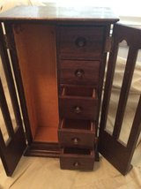 Wood Jewelry with drawers in Glendale Heights, Illinois