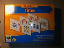 Match It - Learning to Tell Time in Batavia, Illinois