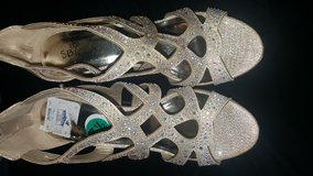 Bedazzled shoes in Camp Pendleton, California