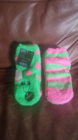 NEW - 2-pack Fuzzy Socks in Bolingbrook, Illinois