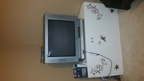27 inch tv/ built in DVD player in Naperville, Illinois