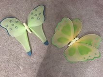 Butterfly wall hangings for girl's room in Aurora, Illinois