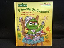 Growing Up Grouchy: The Story of Oscar the Grouch HARD COVER BOOK in Glendale Heights, Illinois