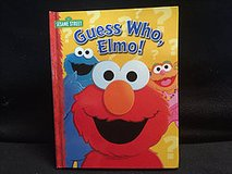 Sesame Street Guess Who? Elmo Board book in Glendale Heights, Illinois