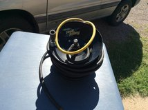 100ft Air  Compressor Hose With Manual Monted Rapid Reel Pro Line in Alamogordo, New Mexico