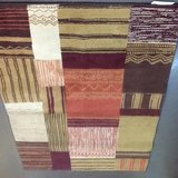 """3""""x5"""" Multicolor Accent Area Rug in The Woodlands, Texas"""