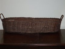 "wicker/metal basket 21-1/2"" x 6"" in Glendale Heights, Illinois"