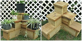 3 Tiered Plant Stand in Beaufort, South Carolina