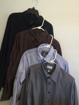 XL mens Lot Button front shirts in Fort Bliss, Texas