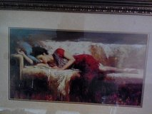 """BEAUTIFUL WATER COLOR TITLED. """"SWEET REST"""" in Fort Irwin, California"""