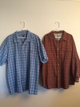 3XL mens Button front shirts Columbia in Fort Bliss, Texas