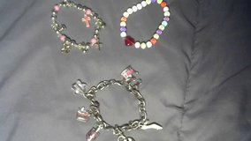 Three Charm Bracelets For A Little Girl in Davis-Monthan AFB, Arizona