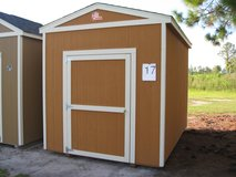 8x12 Utility Shed Storage Building DISCOUNTED!! in Moody AFB, Georgia