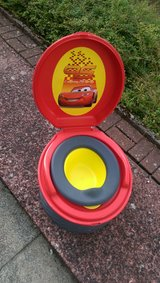 First Years Lightning McQueen Training Potty in Ramstein, Germany