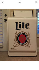 Authentic Miller Lite Rolling Console Cooler in Warner Robins, Georgia