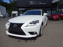Lexus IS250 AWD, SAVINGS $7,917!!! $452 p/month*, as advertsied @ Pentagon Car Sales in Spangdahlem, Germany