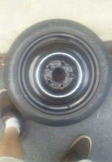 GM Buick Goodyear convenience spare tire and rim T125/70D15 in Byron, Georgia
