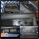 Bridgeable Car Amp (Reduced) in Fort Campbell, Kentucky