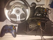 MC2 Madcatz Xbox Racing Wheel and Petal Item #4520 in Beaufort, South Carolina