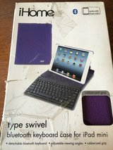 iHome iPad mini case/keyboard in Plainfield, Illinois