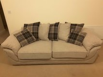Anya - Stewart Large 3 Three Seater Sofa Pillow Back - Beige - 6 Months Old Mint in Cambridge, UK