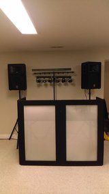 Premium DJ / Karaoke sound system with turntables and mixers in Cincinnati, Ohio
