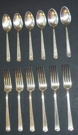 Silver Plated Art Deco Silverware in St. Charles, Illinois