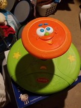 Playskool musical sit and spin orange face in New Lenox, Illinois