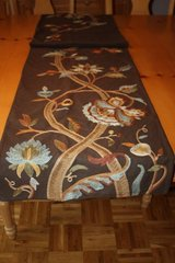 Pottery Barn Fall Brown Table Runner in Ramstein, Germany
