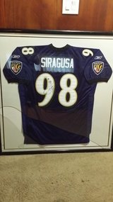 Signed Tony Siragusa jersey in Naperville, Illinois