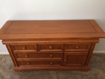 Almost New Dresser/Console in Cognac in Virginia Beach, Virginia