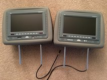 A set of 2 DVDs Players for Truck or Car in The Woodlands, Texas