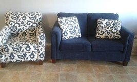 Chair, Loveseat, and Pillows in Yucca Valley, California