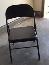 Black folding Chair in Fort Bliss, Texas
