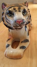 Tiger figurines in Oswego, Illinois