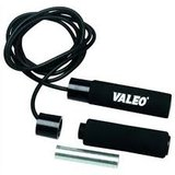 valeo jump rope with weights able to put in handles in Bartlett, Illinois
