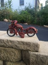Super Cool Cast Iron Motorcycle in Sugar Grove, Illinois