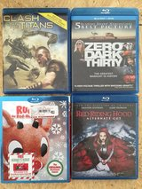 Blue ray dvds in Camp Lejeune, North Carolina