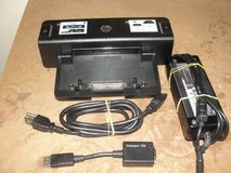HP Docking Station for HP Elitebook Laptops with 2 Power Supplies and Digital Port Adapter in Camp Lejeune, North Carolina