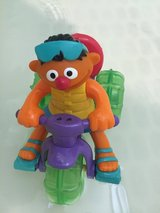 Sesame Street Ernie Water Bike Trike or Floor Moving Toy 3 Wheeler with Rubber Ducky Pull String in Okinawa, Japan