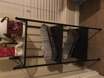Black and Glass Shelving PPU in Conroe, Texas