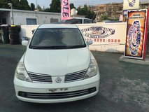 2004 Nissan Tida - NAVI/Backup/Side View Camera - Well Maintained - Compare & $ave! in Okinawa, Japan