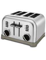 Cuisinart Metal Classic 4-slice Toaster - Classic Chrome - 110V in Ramstein, Germany