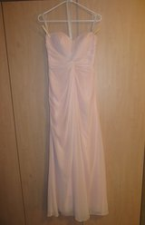 SMALL Blush Light Pink Formal Bridesmaid Gown in Stuttgart, GE