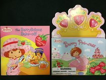 2 Strawberry Shortcake Hardbound Books (Like NEW) in Okinawa, Japan