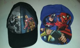 2 Boys hats in Fort Campbell, Kentucky