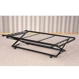 Daybed Pop-Up Metal Trundle Twin Frame in Camp Lejeune, North Carolina